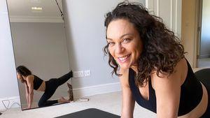 Mit 44: Mit diesem Training hält Lilly Becker ihre Topfigur