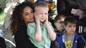 Lilly Becker und ihr Sohn Amadeus