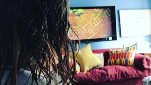 Lily Allens Tochter mit nassen Haaren nach einem Läusebefall