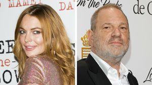 Sie verteidigt Weinstein: Mega-Shitstorm gegen Lindsay Lohan