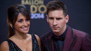 Lionel Messi mit Freundin Antonella Roccuzzo