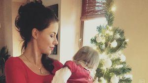 Lisa Wohlgemuth mit Tochter Majlena