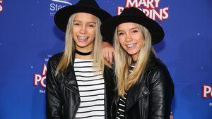 """Lisa und Lena bei der Musical-Premiere von """"Mary Poppins"""" in Stuttgart"""