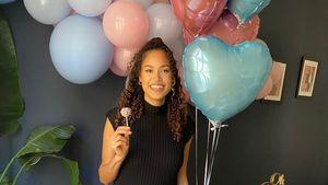 Mit Knall: GNTM-Siegerin Lovelyn verkündet Baby-Geschlecht