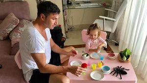 Pinker Papa: Dani Katzenberger & Sophia haben Lucas im Griff
