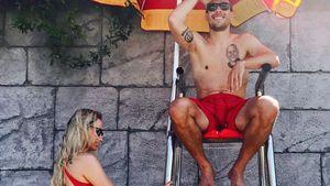 Monika und Lukas Podolski