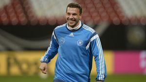 Lukas Podolski teilt süßes Tanz-Video von seinen Kindern