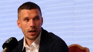 Lustig: Hier sammelte Lukas Podolski Entertainment-Erfahrung