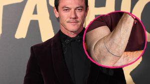 Mini-Midlife-Crisis: Luke Evans ließ sich ein Tattoo stechen