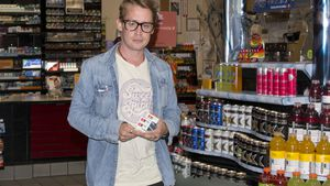 Macaulay Culkin in West Hollywood