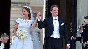 Valentino schwärmt von Madeleine & Hochzeitskleid