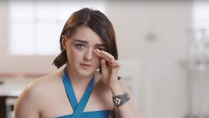 Spaßvogel Maisie Williams: Satire-Werbung gegen Beauty-Wahn