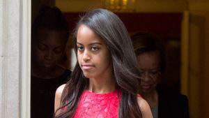 Malia Obama in London nach einem Besuch bei David Cameron
