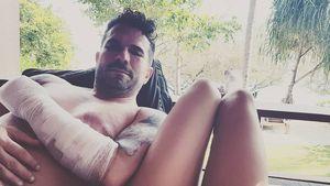 Blaues Auge & Blessuren: Marc Terenzi bei Unfall verletzt!