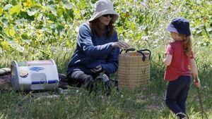 Marcia Cross: Mit Sack und Pack zum Oster-Picknick