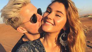 Marcus Butler und Stefanie Giesinger in Dubai