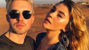Marcus Butler und Stefanie Giesinger in ihrem Dubai-Urlaub
