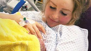 Krankenhausbesuche: Maren Wolfs Baby Lyan hat die Gelbsucht