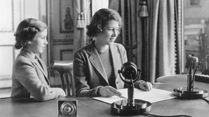 Vor genau 80 Jahren hat die Queen ihre erste Rede gehalten