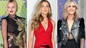 Margot Robbie, Amber Heard und Cara Delevingne