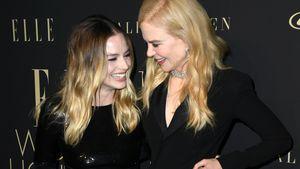 Margot Robbie und Nicole Kidman kuscheln auf Red Carpet