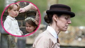 Pippas Hochzeit: Oh, wie sieht denn Prinz Georges Nanny aus?