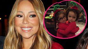 Niedliche Elfen: Mariah Careys Kids sind bereit für Santa!