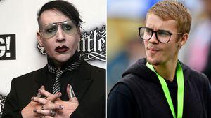 """Mega-Zoff mit Biebs: Marilyn Manson kämpft nicht mit """"Girls"""""""