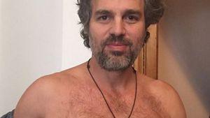 Nippel raus für guten Zweck: Mark Ruffalo zieht blank