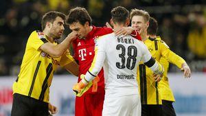 Mats Hummels nach dem Bundesligaspiel des FC Bayern München gegen Borussia Dortmund