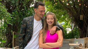 12 Jahre Beziehung: Mats und Cathy Hummels im Liebesrausch