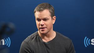 Matt Damon bei SiriusXM's Entertainment Weekly