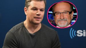 Matt Damon und Robin Williams