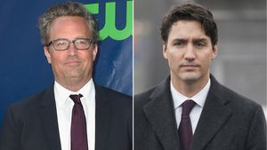 Matthew Perry und Justin Trudeau