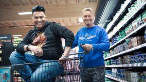 """Dieses Duo gewinnt """"Das Supermarkt-Quiz – Promis kaufen ein"""""""