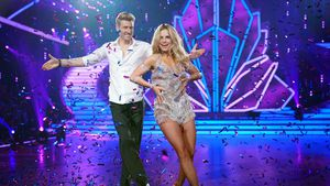 "Maximilian Arland und Sarah Latton bei ""Let's Dance"""