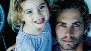 Meadow Walker mit Papa Paul
