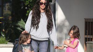 Megan Fox mit ihren Söhnen Bodhi und Noah