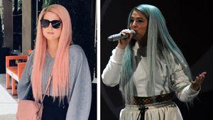 Blau & Rosa: Das steckt hinter Meghan Trainors Haarfarben
