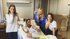 Nach Rippenbruch: Spice Girls besuchen Mel B. im Krankenhaus