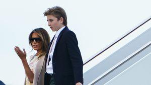 Melania Trump verrät: Auch ihr Sohn Barron hatte Corona