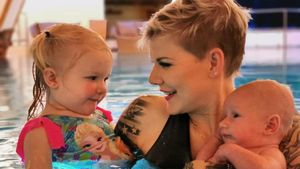 Null Vermarktung: Melli Müller postet weiterhin Familienpics