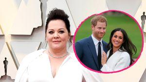 """""""So süß"""": Melissa McCarthy schwärmt von Meghan und Harry!"""