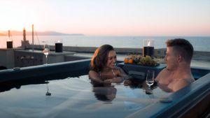 Heißes Date: Bachelorette Melissa turtelt mit Moritz im Pool