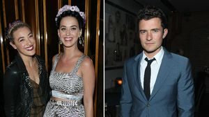 Mia Moretti, Katy Perry und Orlando Bloom
