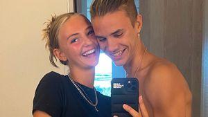 Romeo Beckham und Freundin Mia Regan sind total verliebt