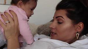 Brech-Alarm: Hat Mia Rose etwa keine Lust auf Geschwister?