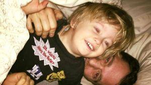 Süßes Familien-Selfie: Michael Bublé tollt mit seinem Sohn