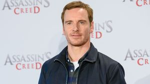 "Michael Fassbender bei dem ""Assassin's Creed""-Photocall in Berlin"