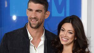Michael Phelps und seine Ehefrau Nicole bei den VMA's 2016